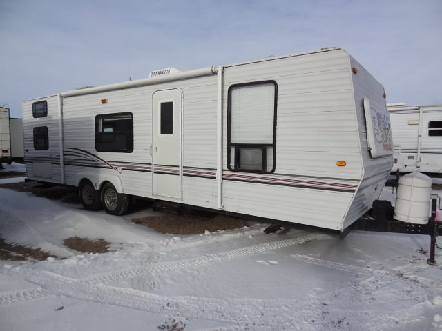 USED 2001 K-Z INC SPORTSMEN 3004SS - Jack's Campers
