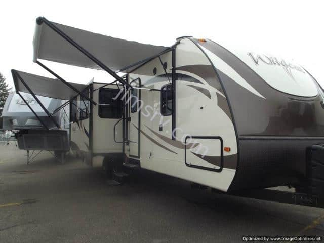 2018 FOREST RIVER WILDCAT T312RLI