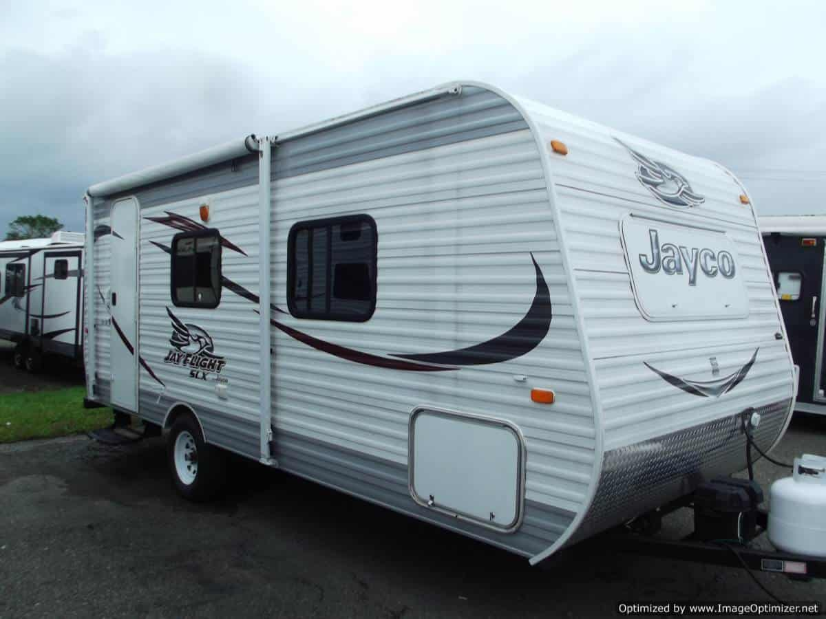 USED 2015 JAYCO JAYFLIGHT SLX 195RB