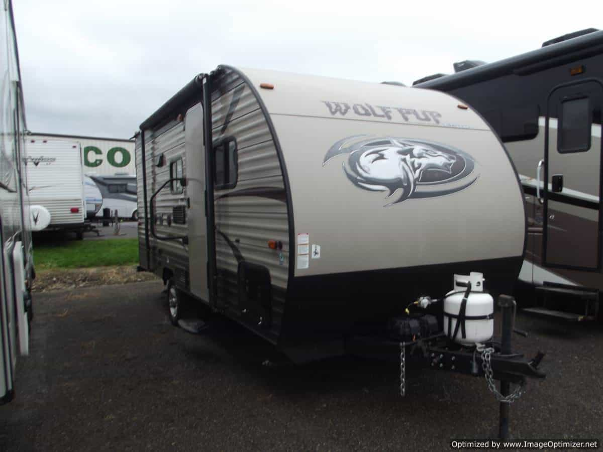 USED 2016 Forest River Wolf Pup 16BH