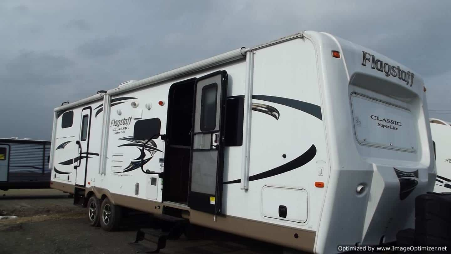 USED 2016 Forest River Flagstaff 831BHDS