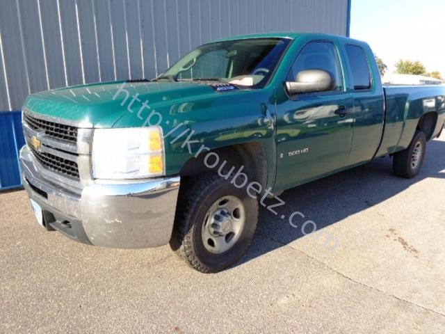 USED 2007 CHEVROLET Chevrolet 2500 Extended Cab