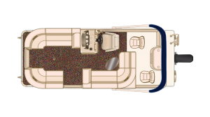 NEW 2018 Sylvan Mirage 8520 Cruise-n-Fish Tri Toon - Lighthouse Marine