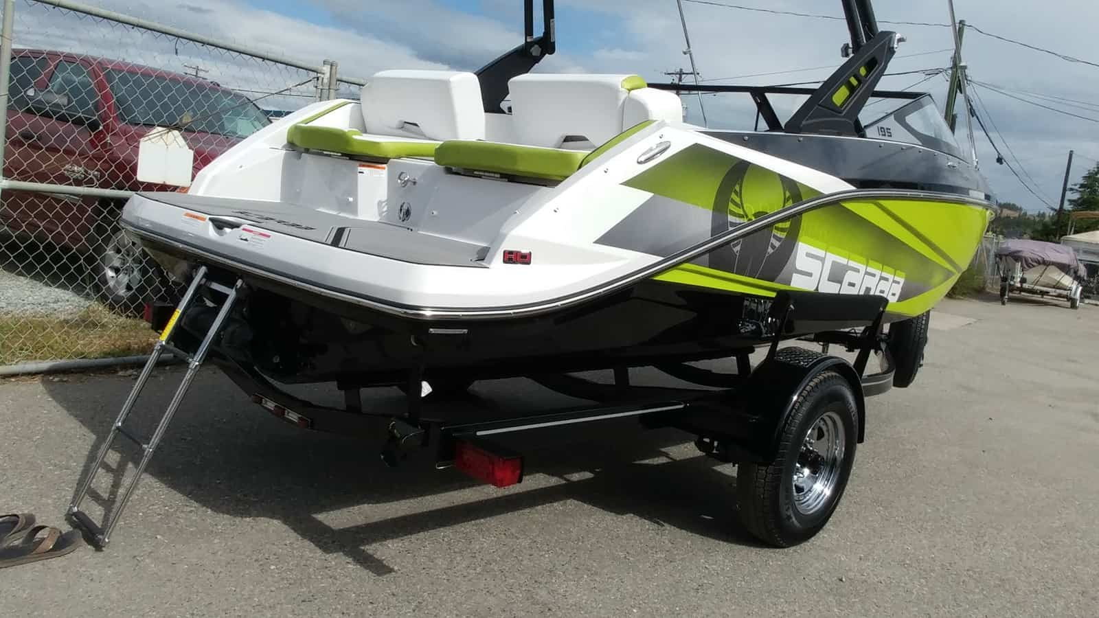 NEW 2018 Scarab 195 Identity Wake Edition - Lighthouse Marine