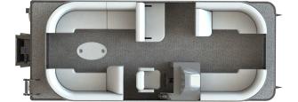 NEW 2019 Sunchaser Geneva 22 LR DH Sport Tri Toon - Lighthouse Marine