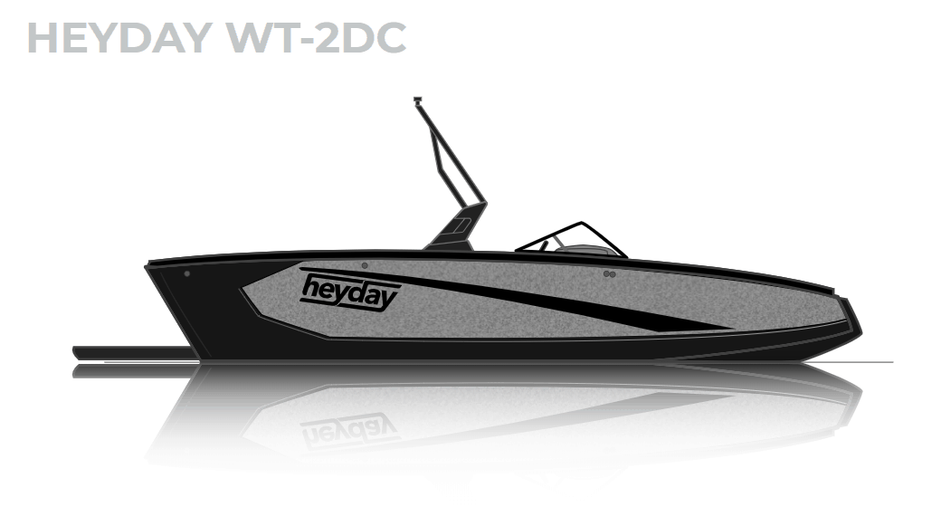 NEW 2019 Heyday WT-2 DC - Lighthouse Marine