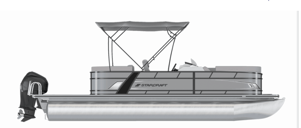 NEW 2019 Starcraft EXS-1 Tri Toon - Lighthouse Marine