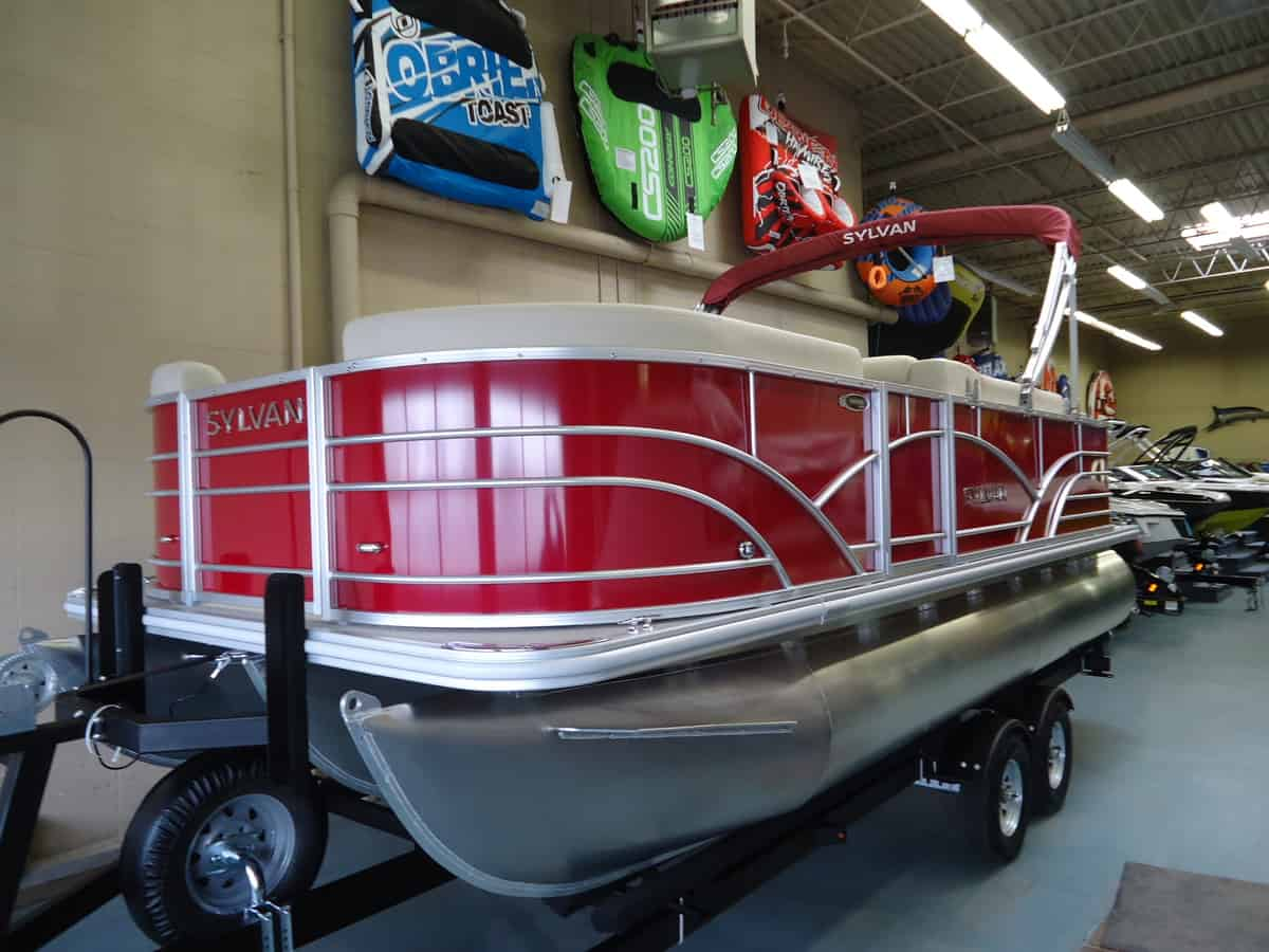 NEW 2018 Sylvan Mirage 8520 LZ Tri Toon - Lighthouse Marine