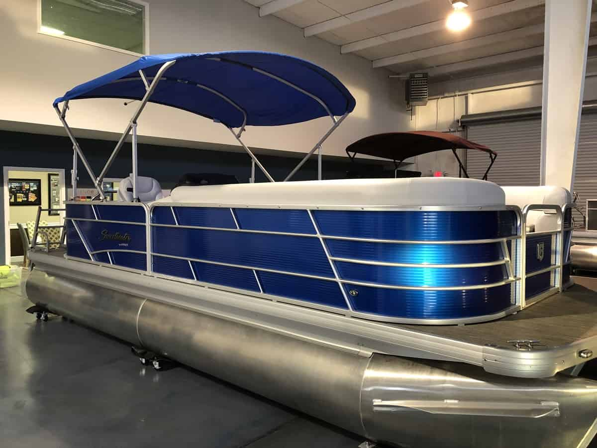 NEW 2019 Sweetwater 2286C Vapor Blue With Yamaha 115 - PULL Watersports