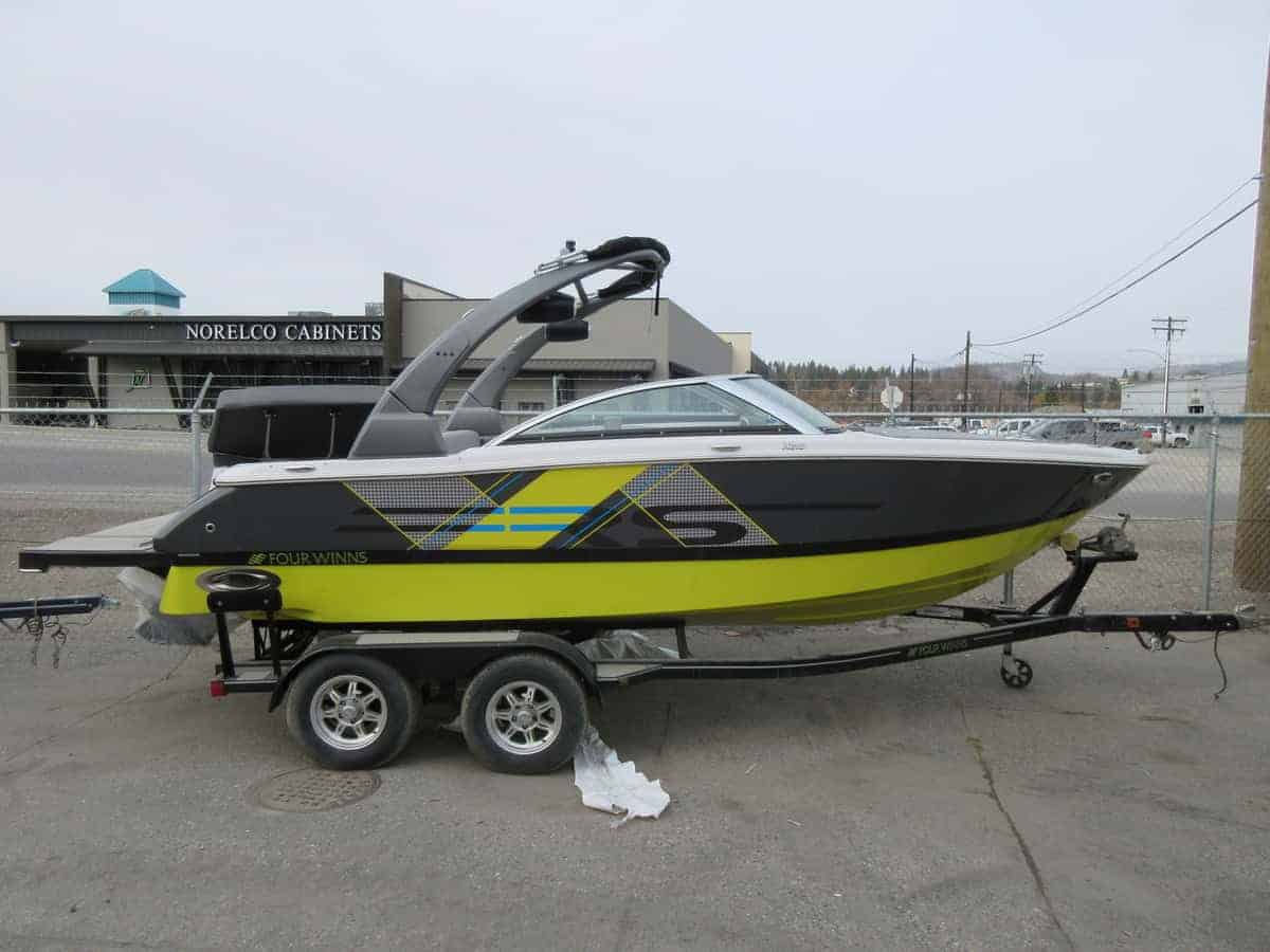 NEW 2018 Four Winns Horizon 210 RS Watersports Tower - Renfrew Marine