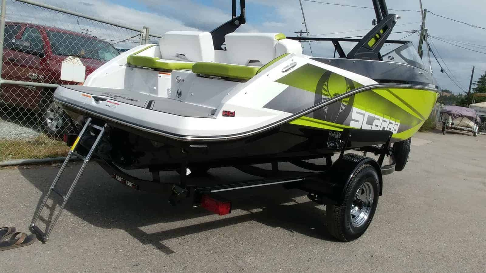 NEW 2018 Scarab 195 Identity Jet Wake Edition - Renfrew Marine