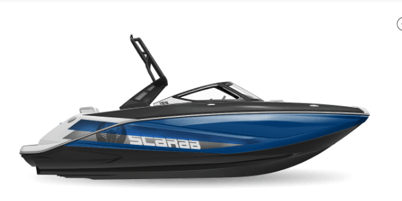 NEW 2018 Scarab 195 Identity Jet Impulse Graphics - Renfrew Marine