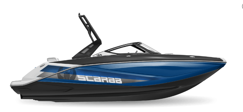 NEW 2019 Scarab 195 Identity Jet Wake Edition - Renfrew Marine