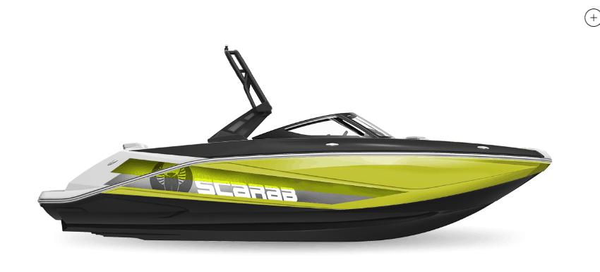 NEW 2019 Scarab 215 Identity Jet Wake Edition - Renfrew Marine