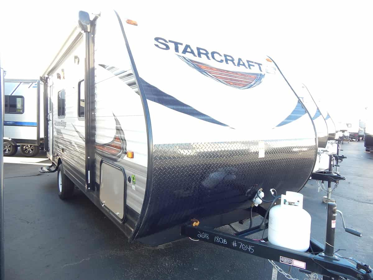 NEW 2018 STARCRAFT AUTUMN RIDGE OUTFITTER 18QB - Rick's RV Center