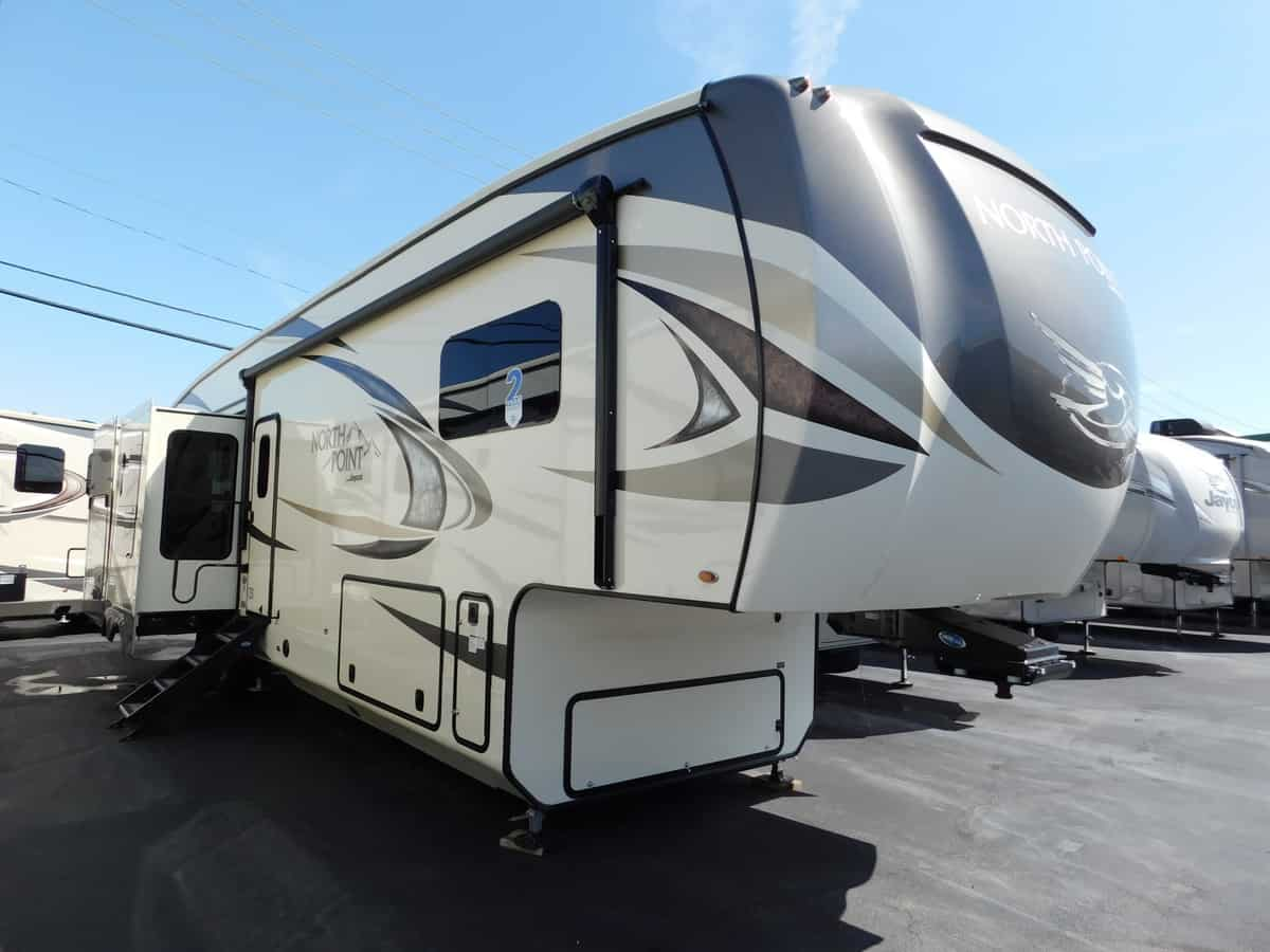 NEW 2018 Jayco NORTH POINT 361RSFS - Rick's RV Center