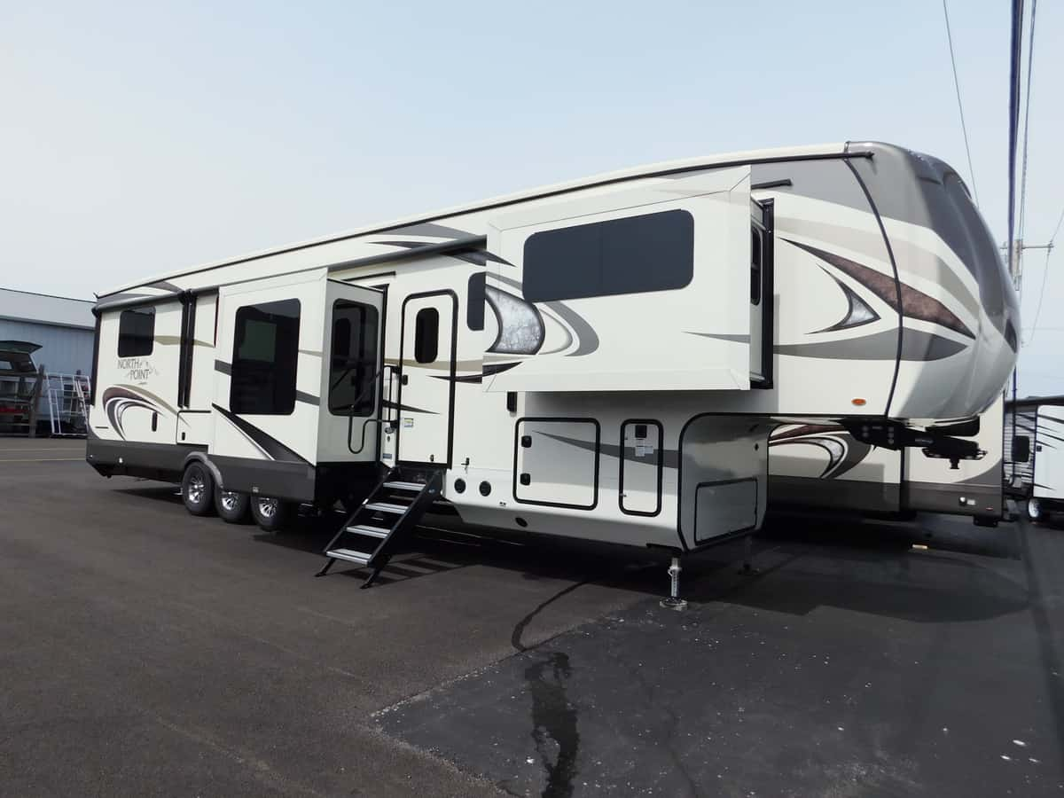 NEW 2018 Jayco NORTH POINT 385THWS - Rick's RV Center