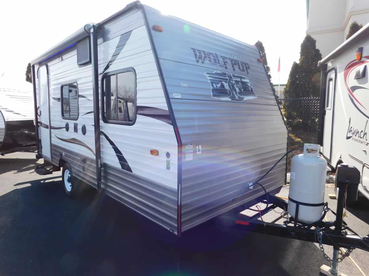 USED 2015 Forest River WOLF PUP 16FB - Rick's RV Center