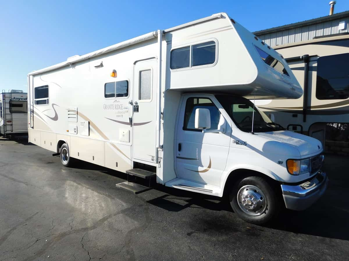 USED 2003 Jayco GRANITE RIDGE 3100SS - Rick's RV Center
