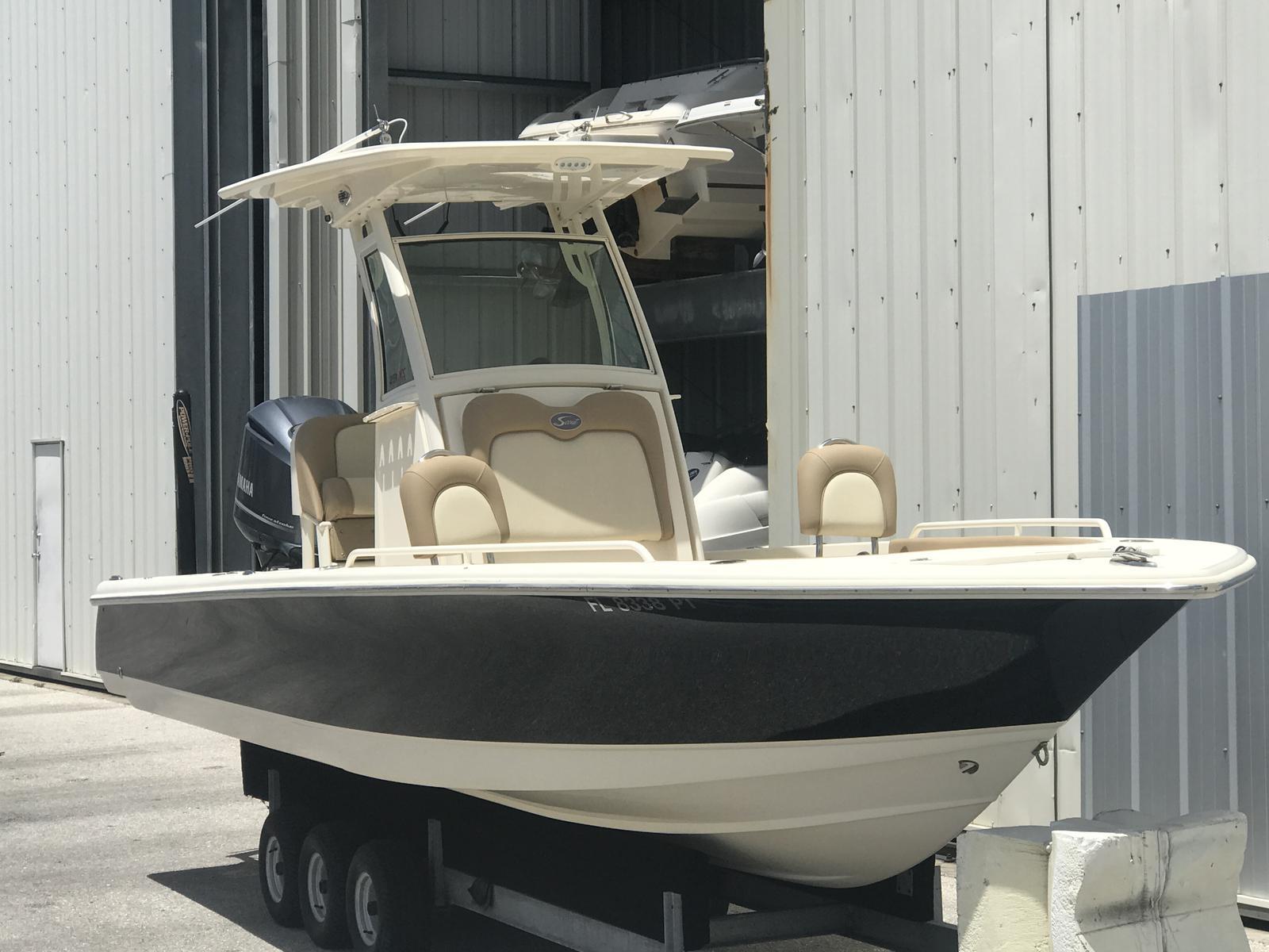 USED 2014 Scout Boat Company Bay Boat 251 XS - Sara Bay Marina
