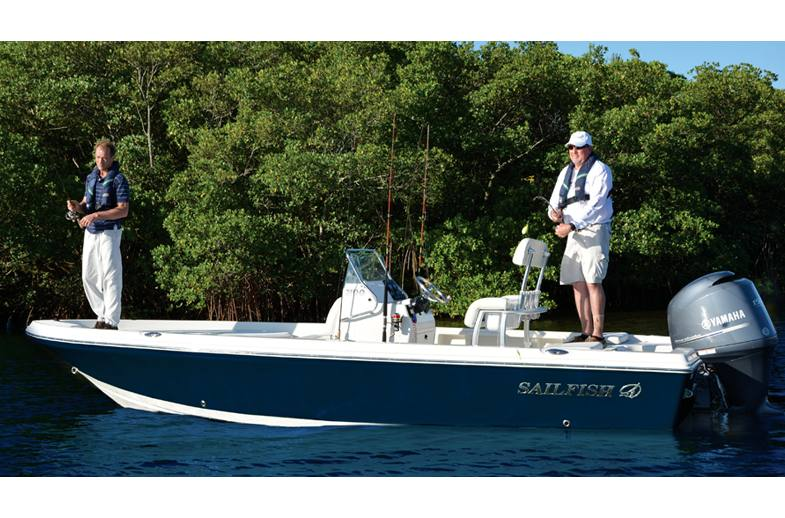 2017 Sailfish 2100BB - Sara Bay Marina