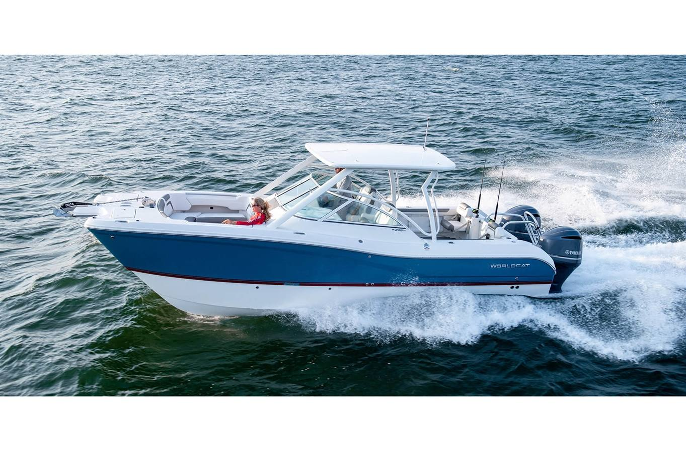 2019 World Cat 296DC Dual Console - Sara Bay Marina