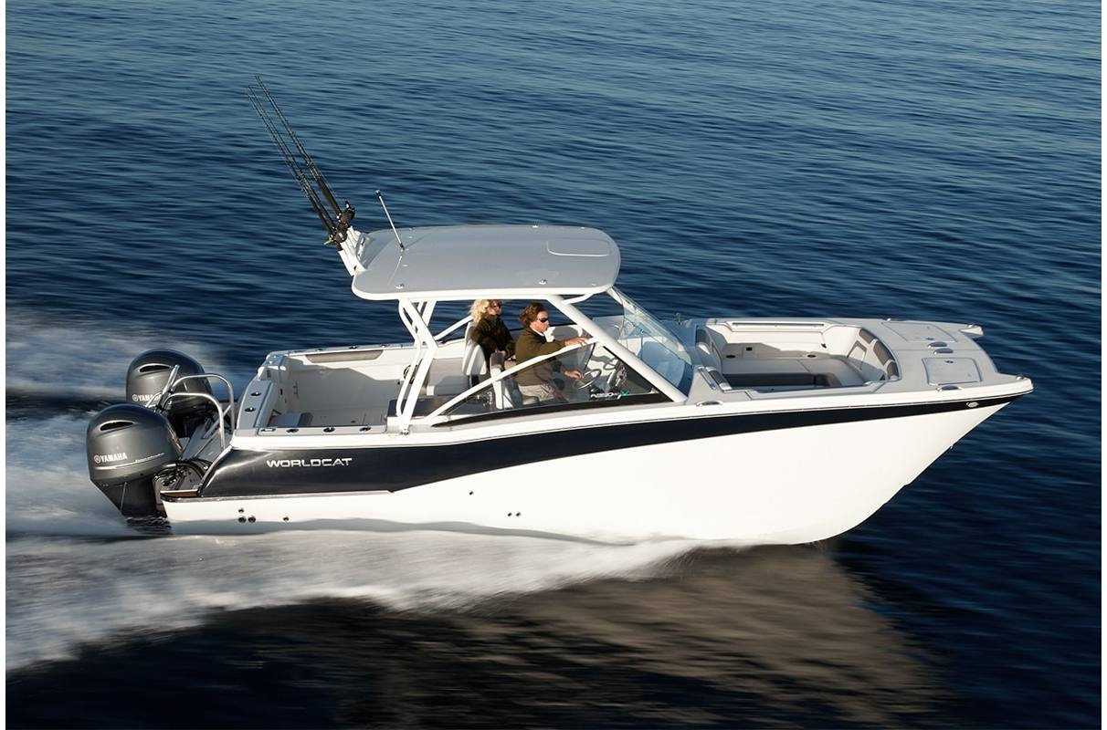 NEW 2019 World Cat 280DC-X Dual Console - Sara Bay Marina