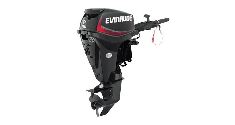 2018 Evinrude 25 HP - E25DGTE Graphite - Sara Bay Marina