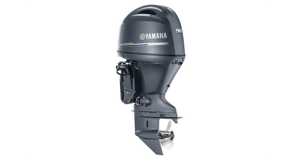 2018 Yamaha F90 In-Line 4 - 25