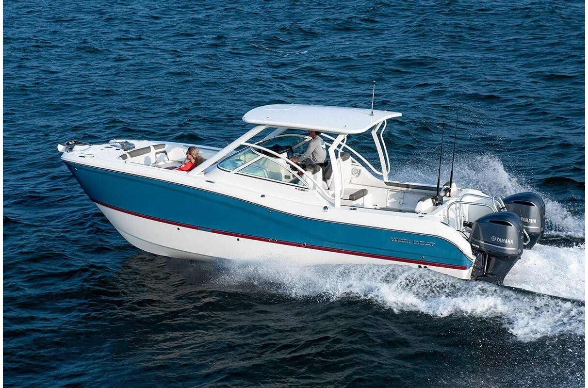 NEW 2019 World Cat 296DC Dual Console - Sara Bay Marina