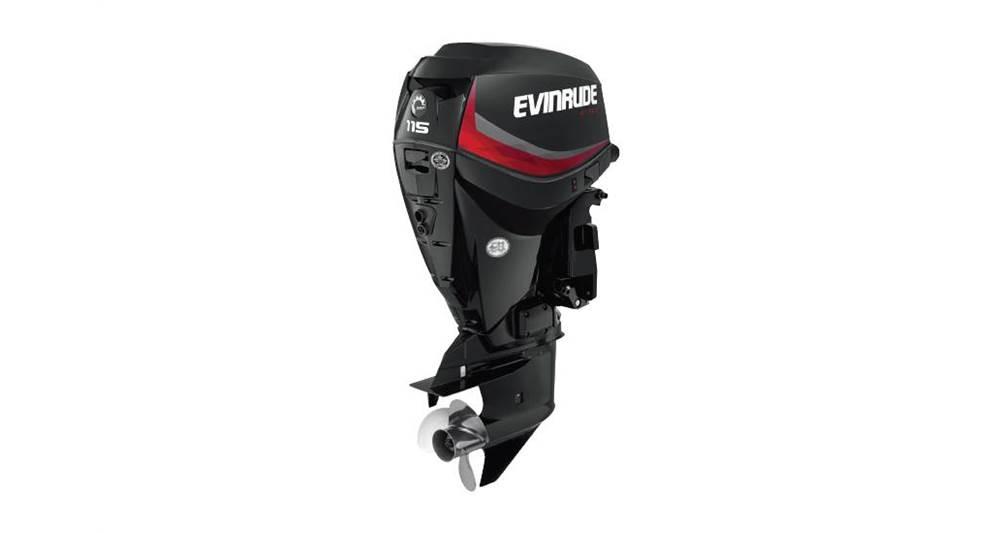 2018 Evinrude 115 HP - E115DGX Graphite - Sara Bay Marina