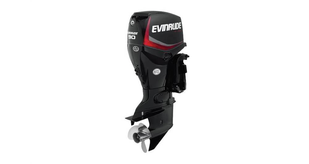 2018 Evinrude 90 HP - E90DGX Graphite - Sara Bay Marina