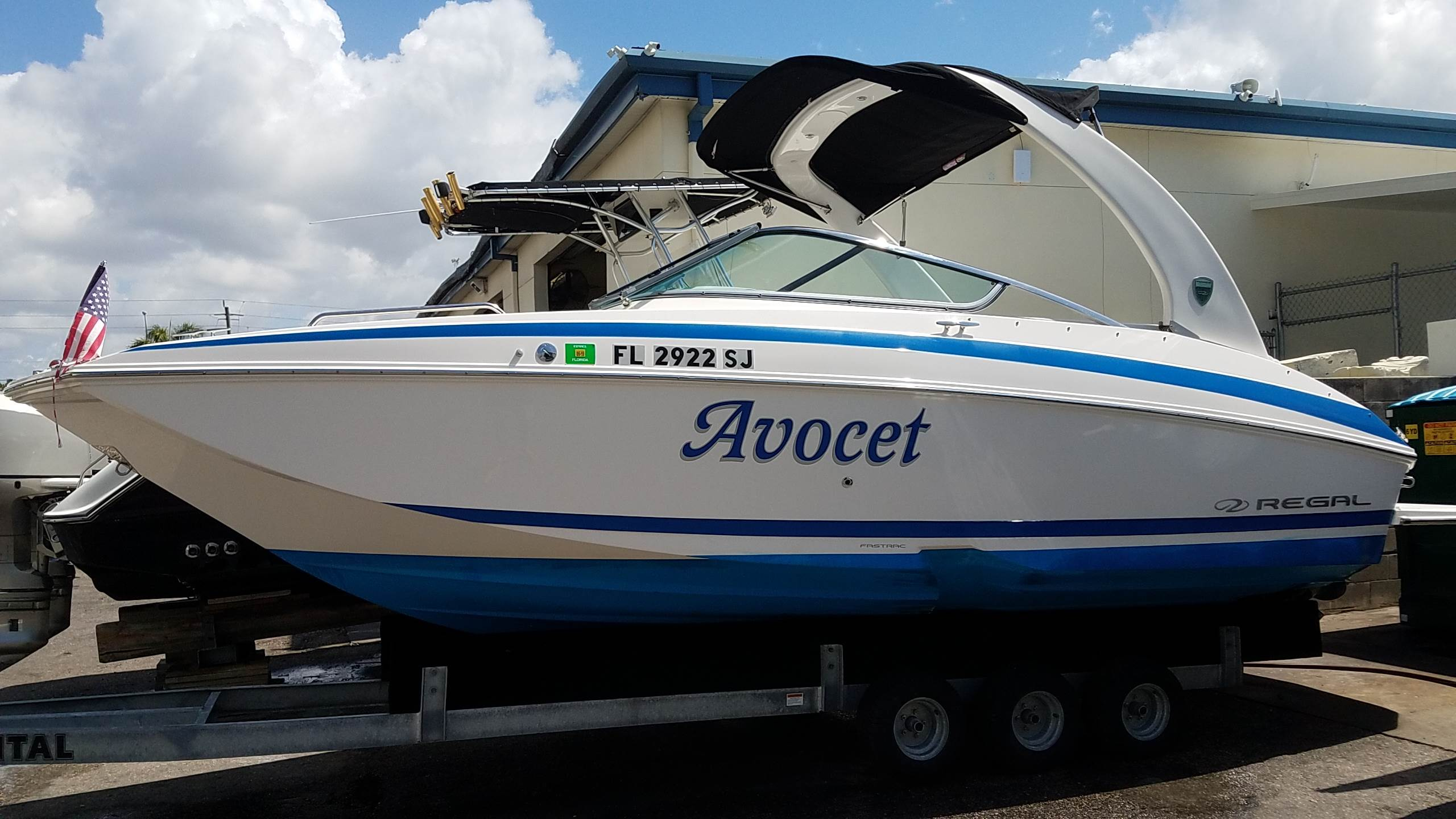 USED 2013 Regal Deck Boat 24 FasDeck - Sara Bay Marina