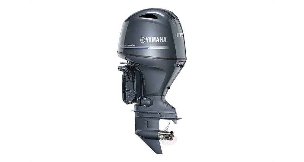 "2018 Yamaha F115 In-Line 4 - 25"" Shaft - Sara Bay Marina"