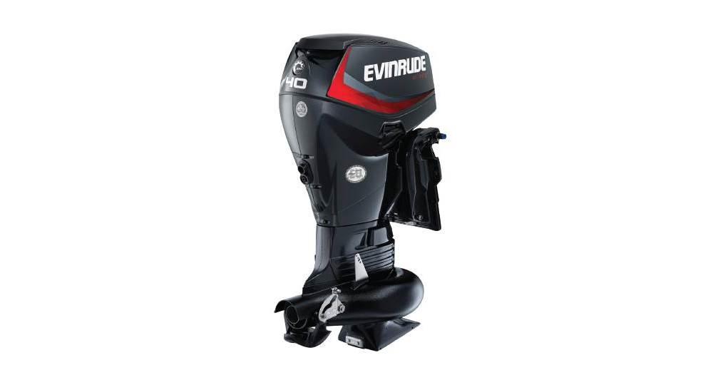 2019 Evinrude E40DPJL Graphite - Sara Bay Marina
