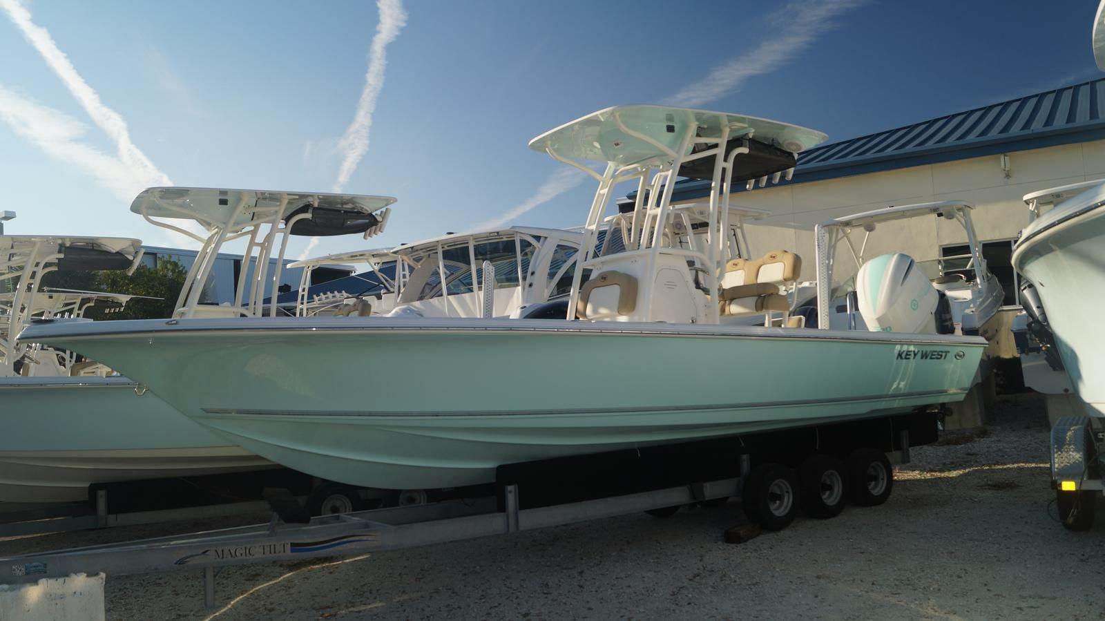 NEW 2019 Key West Boats, Inc. 250 Bay Reef - Sara Bay Marina
