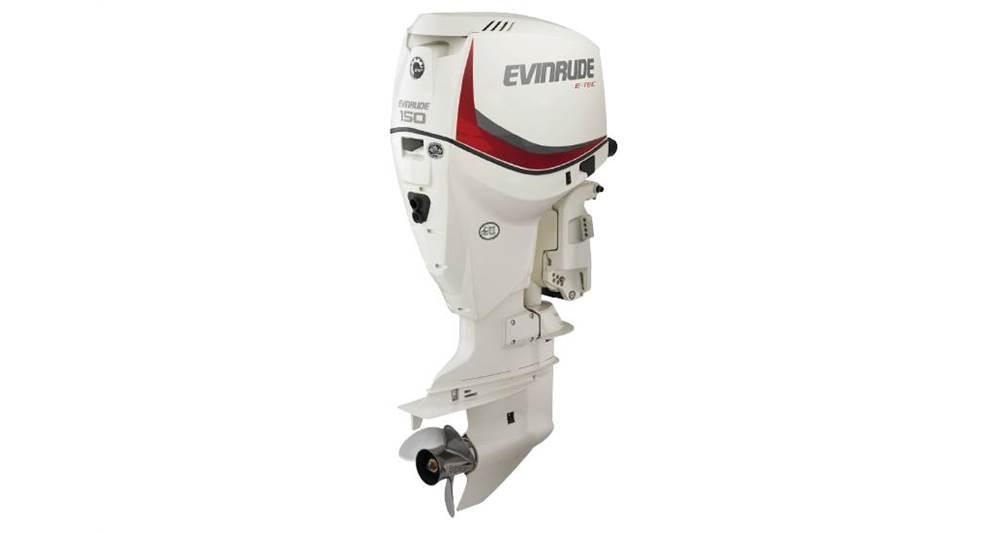 2018 Evinrude 150 HP - E150DSL White - Sara Bay Marina