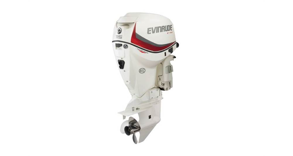 2019 Evinrude 115 HP - E115SNL White - Sara Bay Marina