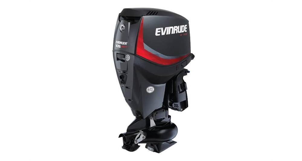 2018 Evinrude E105DJL Graphite - Sara Bay Marina
