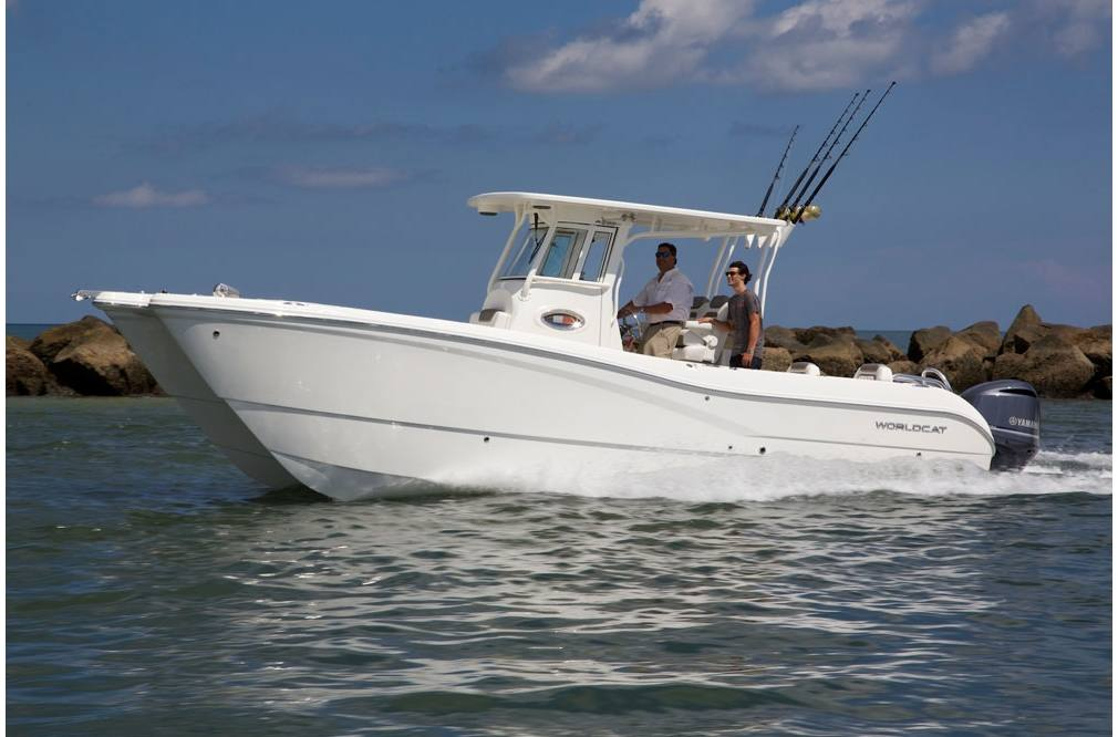 2019 World Cat 295CC Center Console - Sara Bay Marina