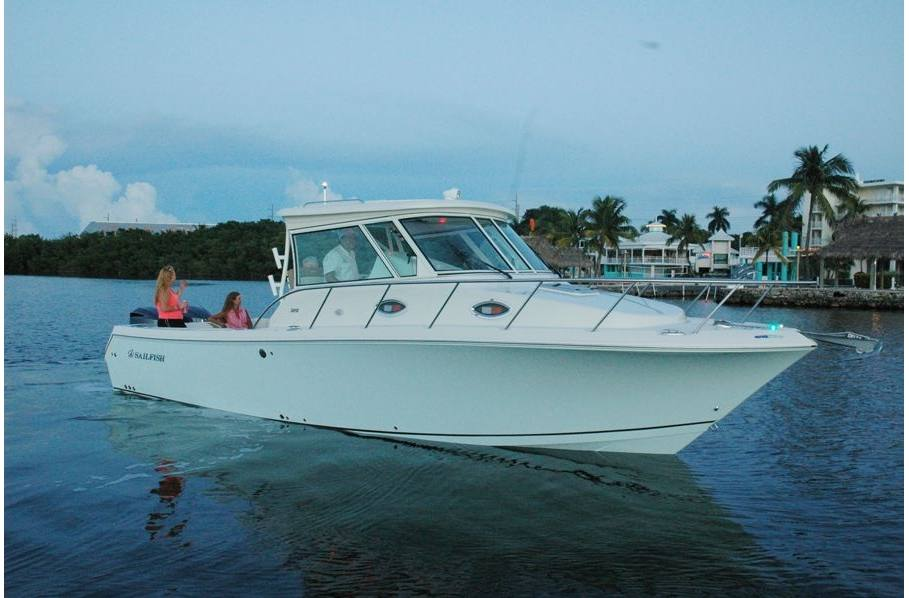 2019 Sailfish 320 EXP - Sara Bay Marina