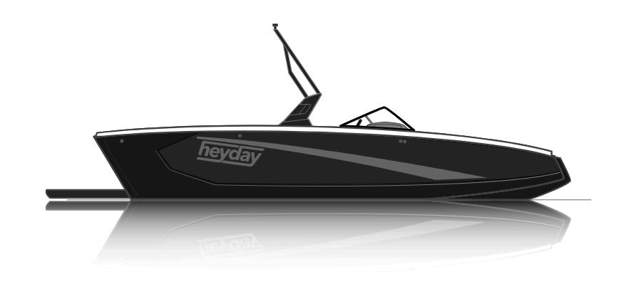 NEW 2018 Heyday WT-SURF - Shipwreck Marine