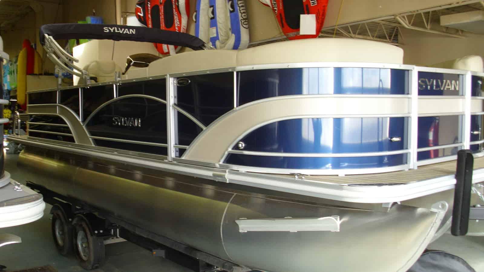NEW 2019 Sylvan Mirage 8522 Cruise LE Tri Toon - Shipwreck Marine