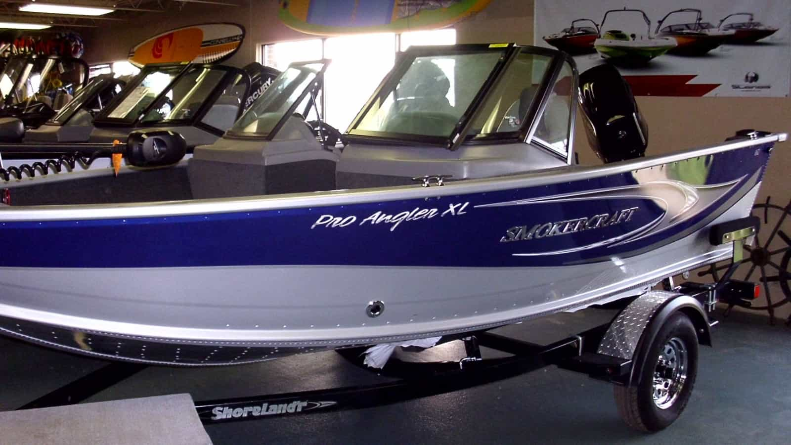 NEW 2017 Smokercraft 162 Pro Angler XL - Shipwreck Marine