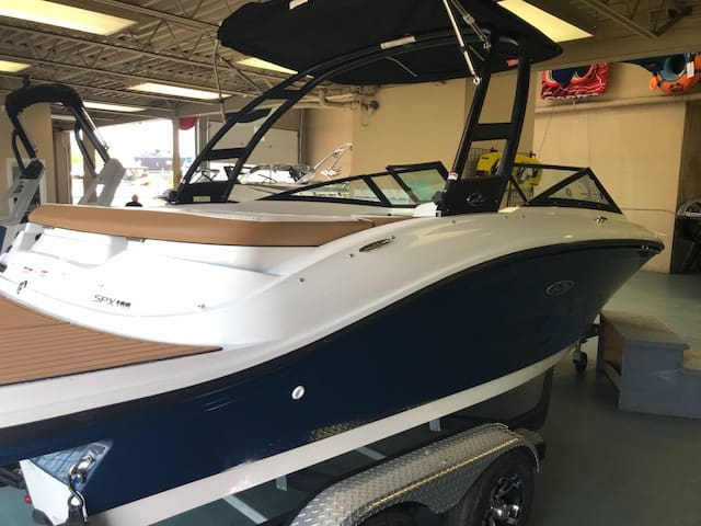 NEW 2018 Sea Ray 190 SPX Watersports Tower - Shipwreck Marine