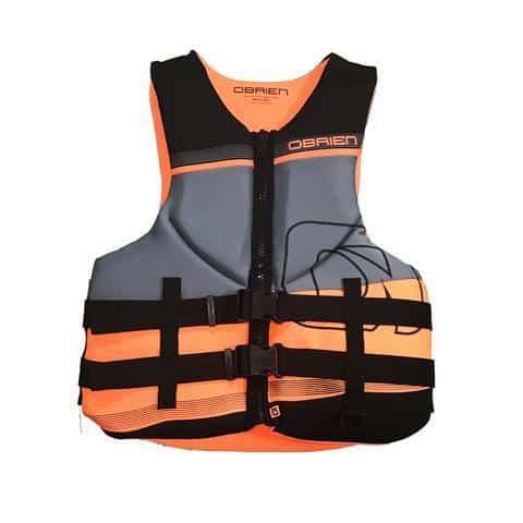 NEW 2018 Obrien Mens tech neo orange - Shipwreck Marine