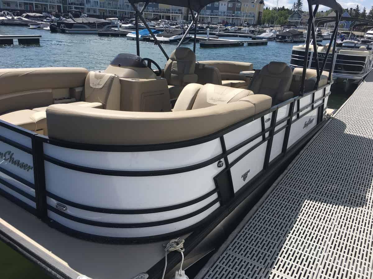 NEW 2018 Sunchaser Geneva 22 LR DH Sport Tri Toon - Shipwreck Marine