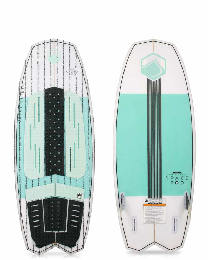 NEW 2018 Liquid Force Space pod Wake surfer - Shipwreck Marine