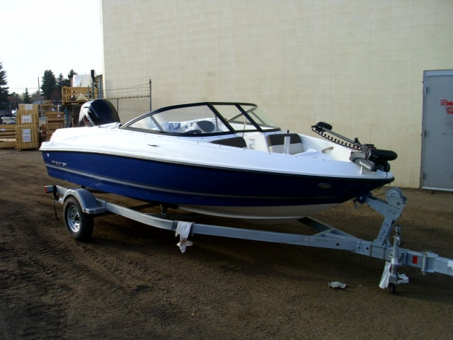 NEW 2019 Bayliner 170 OB with 115 HP 4S Fish and Ski - Shipwreck Marine