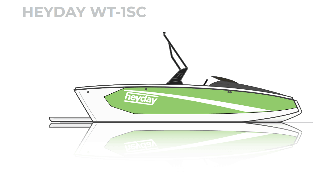 NEW 2019 Heyday WT-1 SC - Shipwreck Marine